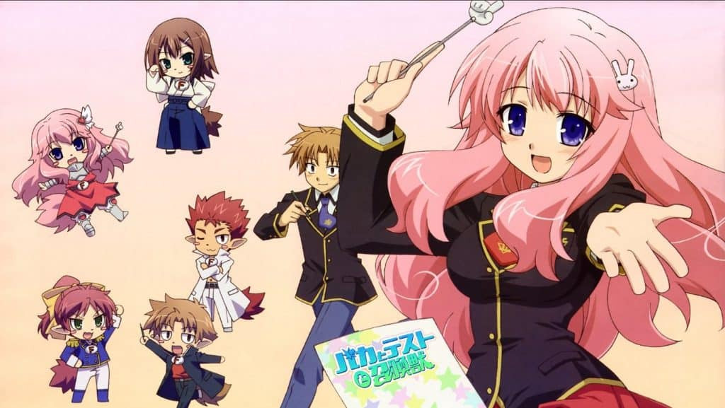 Baka to Test to Shoukanjuu Season 1
